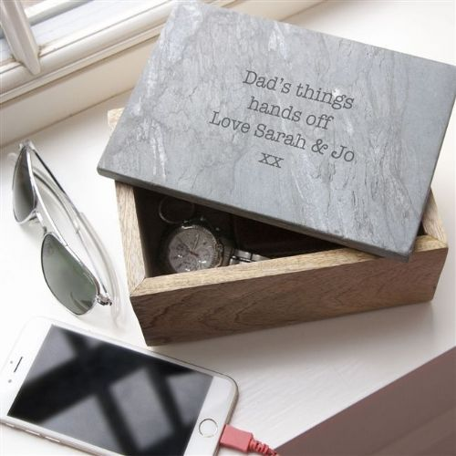 Personalised Slate Storage Box